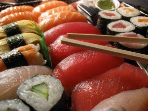 A sushihoz sört isznak a japánok